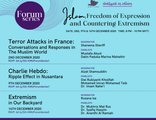 """International Public Forum Series on """"Islam, Freedom of Expression and Countering Extremism""""."""